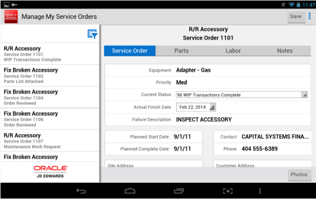 myservice orders 2